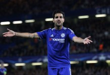 Cesc Fabregas, fonte By joshjdss - Chelsea Vs Maccabi Tel-Aviv, CC BY 2.0, https://commons.wikimedia.org/w/index.php?curid=43378286