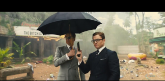 Colin Firth e Taaron Egerton in Kingsman - The Golden Circle