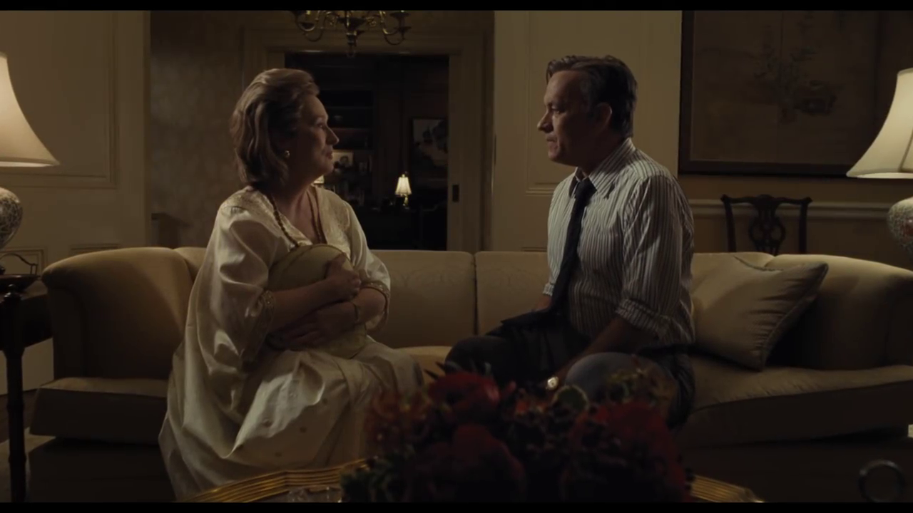 The Post: una nuova featurette con protagonista Tom Hanks